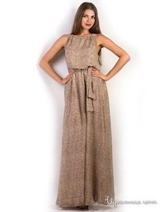 Платье цвет леопардовый Airiny