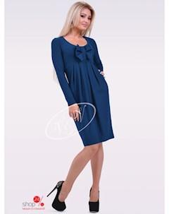 Платье цвет синий V & v