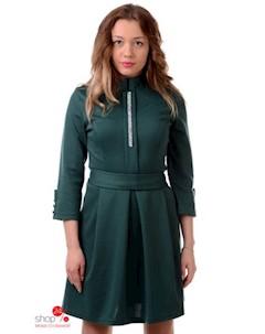 Платье цвет зеленый Leo pride
