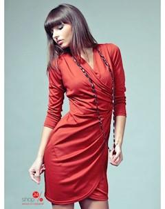 Платье цвет красный Vera fashion