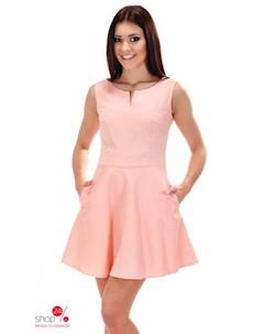 Платье цвет розовый Simmi