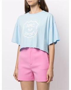 Укороченная футболка с логотипом Alice mccall