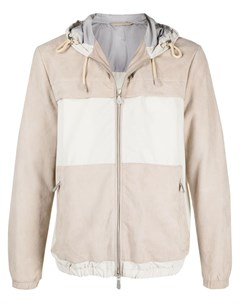 Куртка в стиле колор блок с капюшоном Eleventy