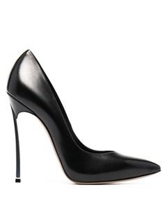 Туфли лодочки на скульптурном каблуке Casadei