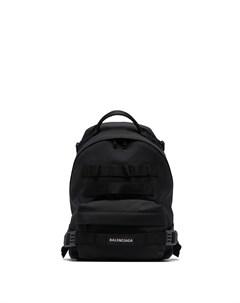 Маленький рюкзак в стиле милитари Balenciaga