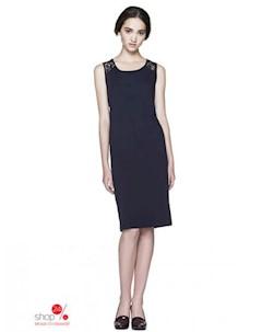 Платье цвет темно синий United colors of benetton