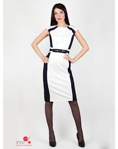 Платье цвет синий белый Nicole & nicole
