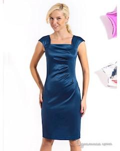 Платье цвет темно бирюзовый Lira
