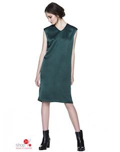 Платье цвет темно зеленый United colors of benetton