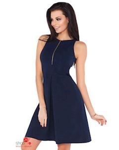 Платье цвет синий Rawear