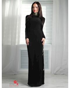 Платье цвет черный Fashion club