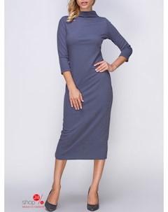 Платье цвет серый Mariem