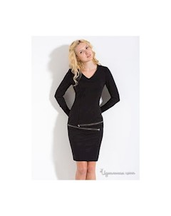 Платье цвет черный Lira