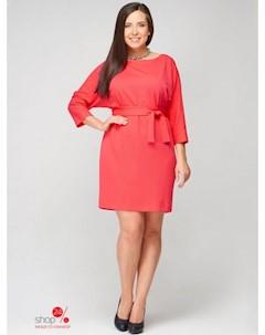 Платье цвет коралловый AMARTI