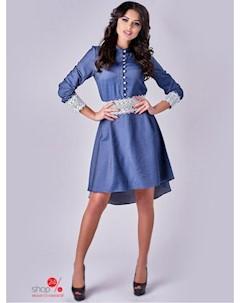 Платье цвет синий Вендетта