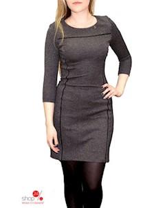 Платье цвет серый Fantazia mod