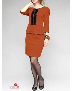 Платье цвет оранжевый Lejole