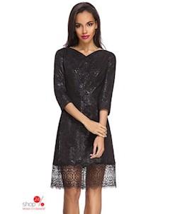 Платье цвет черный Devita