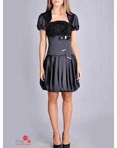 Платье цвет черный Lejole