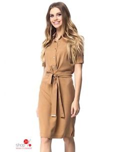 Платье цвет песочный Kiara
