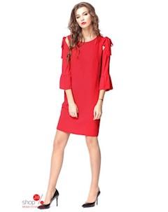 Платье цвет красный Kiara