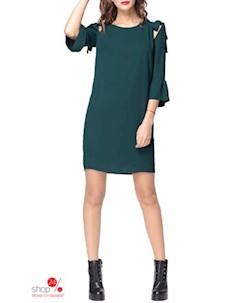 Платье цвет изумрудный Kiara