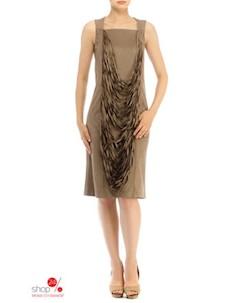 Платье цвет коричневый O.jen