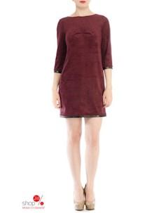 Платье цвет бордовый Devita