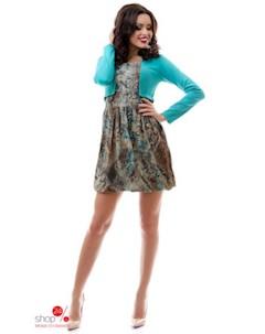 Платье цвет бирюзовый Tivardo