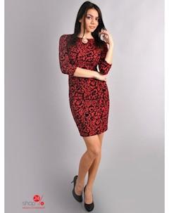 Платье цвет красный Dioriss