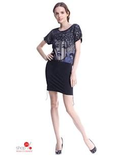 Платье цвет черный Marafett