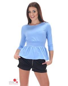 Блуза цвет светло голубой Simmi