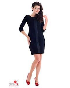 Платье цвет черный Simmi