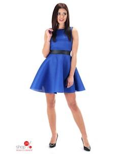 Платье цвет темно синий Simmi