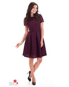 Платье цвет пурпурный Simmi