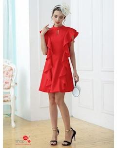 Платье цвет красный Une fleur
