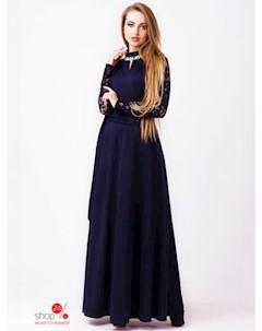 Платье цвет темно синий Leo pride