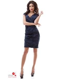 Платье цвет темно синий Dioriss