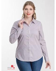 Рубашка цвет белый черный розовый United colors of benetton