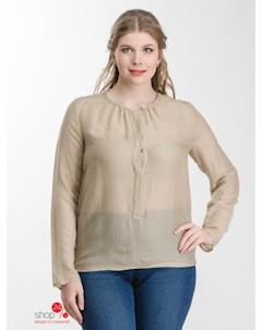 Рубашка цвет бежевый United colors of benetton
