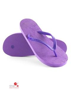 Вьетнамки цвет фиолетовый Evars