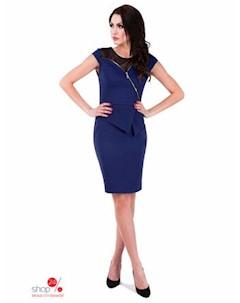Платье цвет темно синий Rylko by agnes & paul