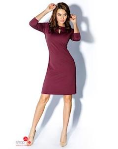 Платье цвет бордовый Rylko by agnes & paul