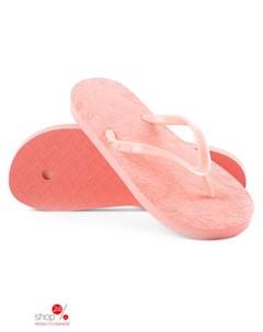 Вьетнамки цвет пастельно розовый Evars