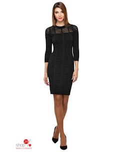 Платье цвет черный Conso