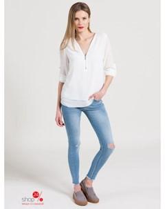 Блуза цвет белый Haily's