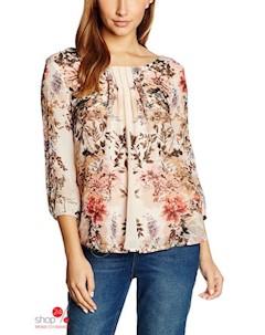 Блуза цвет бежевый Haily's
