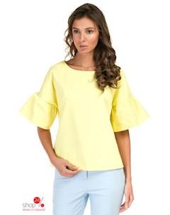 Блуза цвет желтый Baon