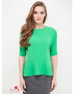 Блуза цвет зеленый Kiara