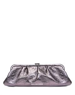 Клатч кожаный Cloud XL Balenciaga